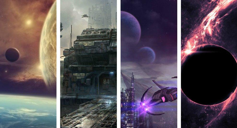 Colección Wallpapers De Ciencia Ficción En Hd Desarrollo Geek